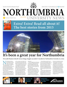 Northumbria University News Issue 8 - Best of 2015 Edition