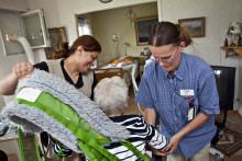 Arbetsmiljön för omvårdnadspersonal inspekteras