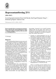 Reform av utviklingspolitikken - Dokument 8-forslag fra KrF