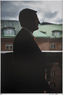 New portrait of Carl Bildt featured in Gripsholm Castle exhibition