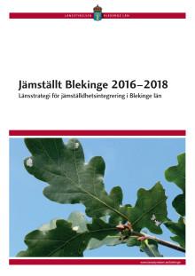 Jämställt Blekinge 2016–2018