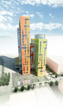Skanska bygger Lunds högsta byggnad, Ideon Gateway, för 250 miljoner kronor