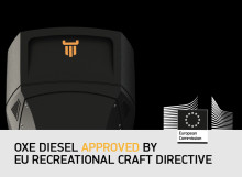 The Only High Performance Diesel Outboard Approved by EU Recreational Craft Directive