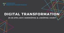 Darja Isaksson öppnar Sveriges Innovationsriksdag