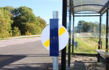 Västtrafik satsar på fler reflexsnurror i Skaraborg