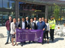 Purple Flag for Bury for fourth consecutive year