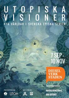 Ny utställning om svenska episka serier på Dieselverkstaden