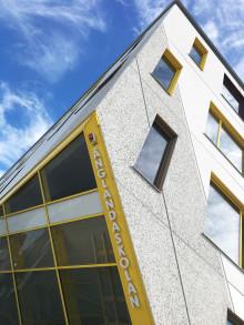 Dags för skolstart i nya Änglandaskolan