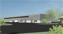 Brostaden nyproducerar tre byggnader för lager och industri