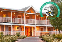 The Lodge får Certificate of Excellence för femte året i rad!