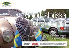 Motorhistoriskt firande över hela landet den 6 juni – fem sticker ut