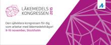 Pressinbjudan till Läkemdelskongressen 2015 9-10 november