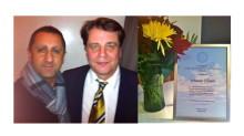 Samir Sabri Hedersstipendiat 2013  – Stiftelsen Karin och Ernst August Bångs minne