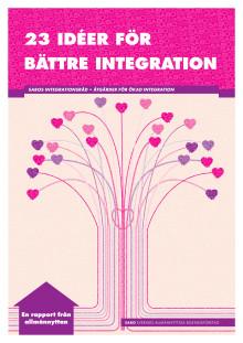 Rapporten: 23 idéer för bättre integration