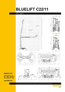 Faktablad Carlsson & Co Bluelift Datasheet-C22