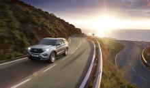 Nya Ford Explorer Plug-In Hybrid börjar levereras till kunder i Europa