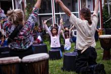 Om musik och integration i fullt och öppet hus på Kulturkvarteret Kristianstad