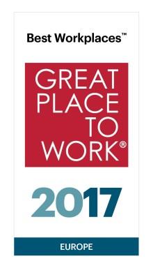 Iterio – Europas 23:e bästa arbetsplats