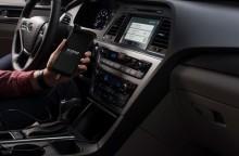 Første bil med full integrasjon av smarttelefon