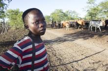 Barn i Zimbabwe hårt pressade av matbrist