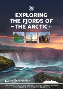 'Exploring the Fjords of the Arctic' with Fred. Olsen Cruise Lines in 2017