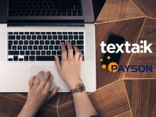 Textalk ger sina kunder möjlighet att ta betalt med PaysonCheckout 2.0