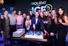 Let's celebrate: HOLIDAY ON ICE feiert im belgischen Antwerpen Auftakt zur 75. Saison