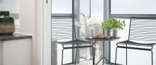 Balco tilbyr tre vårtips til balkongen din