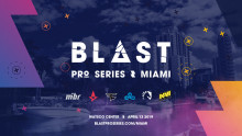 Press accreditation for BLAST Pro Series Miami