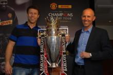 DHL fik Manchester Uniteds mesterskabstrofæ til Danmark