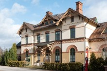 Historiskt stationshus i Hallstahammar mest klickat i landet