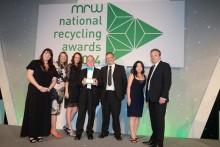 Prestigious recycling award for Right Stuff Right Bin campaign