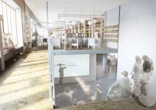 Veidekke bygger nya Samhällsbyggnad på Chalmers tekniska högskola