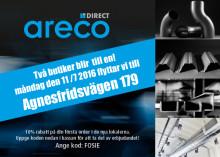 Två Areco Direct butiker blir till en!