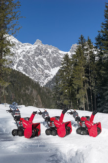 Nye lettkjørte og effektive snøfresere fra Honda