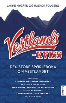 Spørjeboka  Vestlandskviss er ute, med spørsmål frå mellom anna Linda Eide, Olav Stedje og Gunnar Staalesen