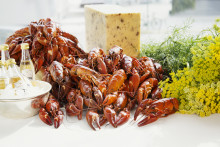 Crayfish party at the Veranda