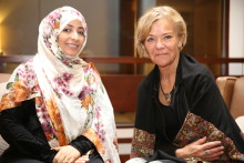 Nobel Peace Prize Laureate Tawakkol Karman to visit the Nobel Peace Center