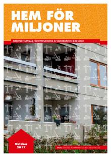 Hem för miljoner, rapport från SABO 2017
