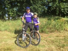 Habberley schoolboy gears up for 200 mile fundraising cycle