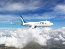 SilkAir's First Boeing 737-800 Makes Its Debut On Home Ground At The Singapore Airshow 2014