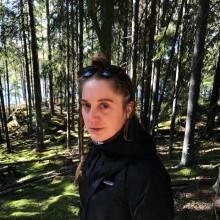 Hanna Wildow leder konstprojekt i Lindesberg med skolelever