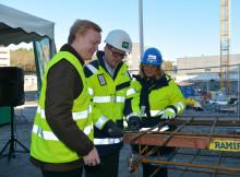 Byggstart för Kabelverket 17 i Älvsjöstaden