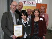 Nu tar ett av världens 100 hetaste startups examen från STINGs affärsinkubator