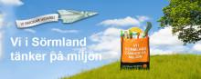Sörmlands Sparbank skänker kassar för att uppmärksamma problemet med plast i naturen