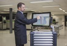 IT erobrer verkstedet: Ny Schüco verkstedterminal for fasadeentreprenører