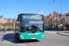 Nu kommer stadsbussarna till Råbylund