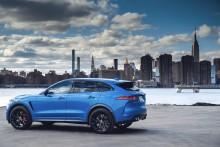 Jaguar F-PACE: SUV med sportsbilytelse