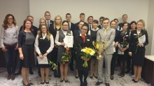 Haaga-Helia in Estonia Supported Receptionist of the Year 2015 Competition