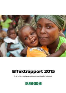 Barnfondens Effektrapport 2015